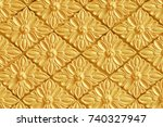 Background Of Gold Decorative...