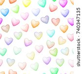 Colorful Heart Seamless...