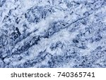 blue marble background. stone...   Shutterstock . vector #740365741