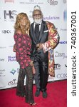 Small photo of New York, NY - October 23, 2017: Vivian Scott Chew, Alexander Smalls attends Harlem School of the Arts Masquerade Ball at The Plaza Hotel