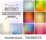 abstract creative concept...   Shutterstock .eps vector #740383474