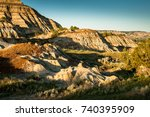 Small photo of Wilderness at Theodore Roosevelt National Park, North Unit, North Dakota, USA