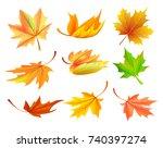Fallen Golden Yellow Leaves...