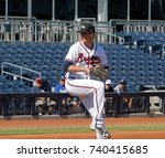 max fried pitcher for the... | Shutterstock . vector #740415685