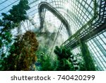 """cloud mountain"" at gardens by... 