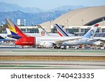 los angeles california   oct.... | Shutterstock . vector #740423335