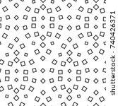 vector illustration of seamless ... | Shutterstock .eps vector #740426371