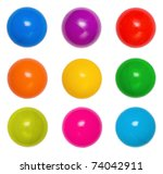 Many Colour Plastic Balls From...