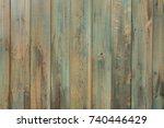 textured shabby wooden panel...   Shutterstock . vector #740446429