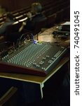 Small photo of Mixer is used in many applications, including recording studios, public address systems, sound reinforcement, nightclubs, dance clubs, radio, television and film post-production.