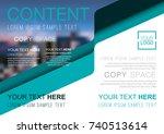 presentation layout design... | Shutterstock .eps vector #740513614