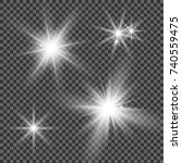Abstract Image Of Lighting...