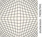 vector grid seamless pattern ... | Shutterstock .eps vector #740567041