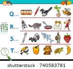 cartoon vector illustration of... | Shutterstock .eps vector #740583781