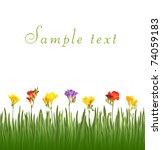 flowers | Shutterstock . vector #74059183