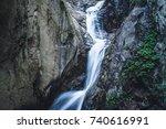 switzerland alps gorges du...   Shutterstock . vector #740616991