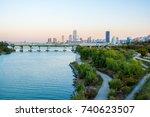 seoul  south korea  november... | Shutterstock . vector #740623507