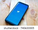 kazan  russian federation   sep ... | Shutterstock . vector #740633305