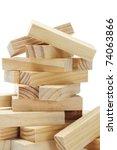 Stack Of Wooden Rectangular...