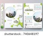 portfolio design template... | Shutterstock .eps vector #740648197
