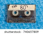 the 1980's   Shutterstock . vector #740657809