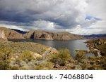 Canyon Lake  A Reservoir On Th...