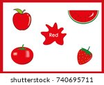learn the colors  kids are...   Shutterstock .eps vector #740695711