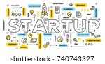 startup technology concept....