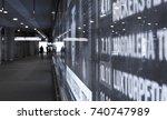 warsaw  poland   17 october ... | Shutterstock . vector #740747989