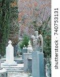 tbilisi  georgia   january 1 ...   Shutterstock . vector #740753131