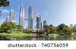 kuala lumpur  malaysia   april... | Shutterstock . vector #740756059