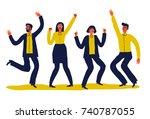 creative vector illustration of ... | Shutterstock .eps vector #740787055