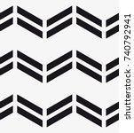 vector seamless pattern.... | Shutterstock .eps vector #740792941