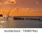 Holbox Island Sunset Beach In...