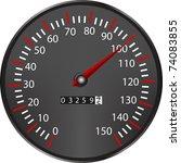 tachometer | Shutterstock . vector #74083855