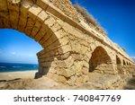 Ancient Roman Aqueduct At...