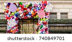 new york  usa  november 1st ... | Shutterstock . vector #740849701