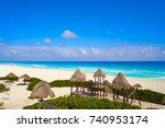 Cancun Playa Delfines Beach In...