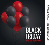 black friday special discount | Shutterstock .eps vector #740959639