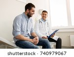 medicine  healthcare and people ... | Shutterstock . vector #740979067