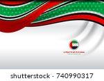 vector illustration of united... | Shutterstock .eps vector #740990317