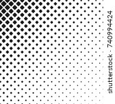 geometric black and white... | Shutterstock .eps vector #740994424