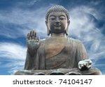 The Tian Tan Buddha In Hong...