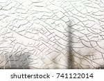 broken glass | Shutterstock . vector #741122014