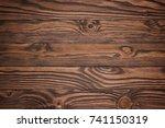 photograph of walnut wood... | Shutterstock . vector #741150319