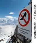 sign in alps | Shutterstock . vector #741158455