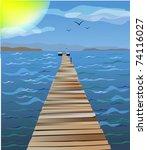 Bridge Which Conducts In A Sea. ...