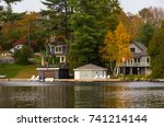 Cottages And Boathouses With...