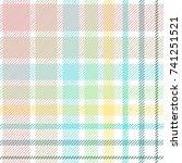 light checkered print. seamless ... | Shutterstock .eps vector #741251521