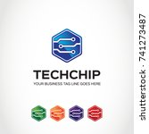 this is a technical logo used... | Shutterstock .eps vector #741273487